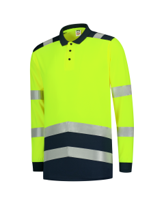 Tricorp Poloshirt High Vis Bicolor Lange Mouw
