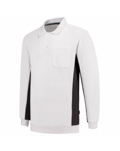 Tricorp Polosweater Bicolor Borstzak
